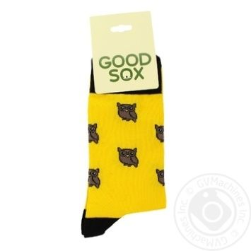 Sock Goodsox cotton for women - buy, prices for Novus - image 1