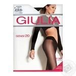 Tights Giulia Sensi black polyamide for women 20den 4size