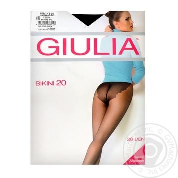 Колготы женские Giulia Maya Bikini 20D 4 Nero - купить, цены на Novus - фото 2