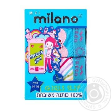 Труси д/дівчинки Milano GBR 03-2P в асортименті 2шт/уп - купити, ціни на Фуршет - фото 1