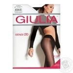 Tights Giulia Sensi black polyamide for women 20den 2size
