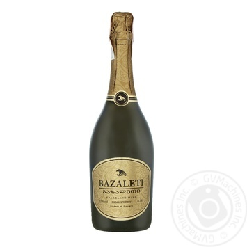 Bazalet white semi-dry sparkling wine 12% 0.75l - buy, prices for Novus - image 1