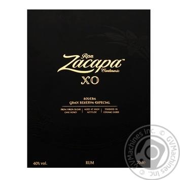 Zacapa Cent Rum X.O. 40% 0,7l - buy, prices for Novus - image 3