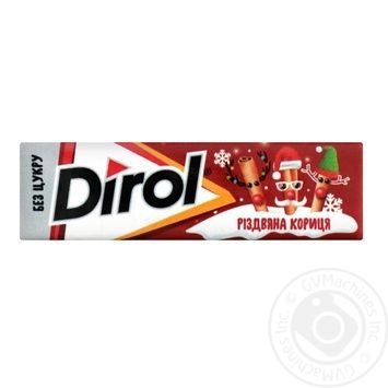 Chewing gum Dirol with cinnamon 14g - buy, prices for Tavria V - image 1