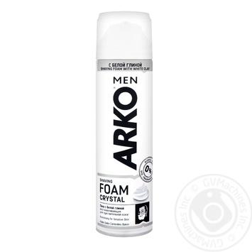 Пена для бритья Arko Crystal 200мл - купить, цены на МегаМаркет - фото 1