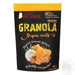 Гранола Doctor Benner з кокосом горіхом та медом 300г