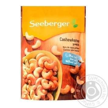 Кеш'ю Seeberger підсмажений 150г - купити, ціни на CітіМаркет - фото 1