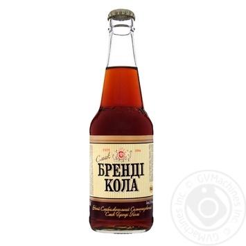 Напій Оболонь Бренді Кола слабоалкогольний сильногазований 0,33л скло - купити, ціни на Novus - фото 3
