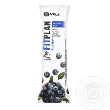 Candy bar with blueberries 25g - buy, prices for MegaMarket - image 1