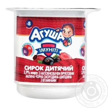 Сырок детский Агуша Иммунит 3,9% 100г - купить, цены на Novus - фото 1