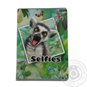 Блокнот Beniamin Selfies А5 80 сторінок - купити, ціни на Ашан - фото 1