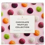 Цукерки Millennium Колекція шоколадних трюфелів асорті 200г - купити, ціни на ЕКО Маркет - фото 1