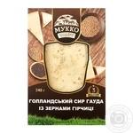 Сыр Мукко Гауда с зернами горчицы 240г