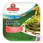 Морська капуста маринована з цибулею і солодким перцем 1/150
