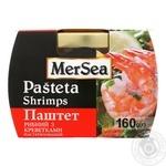 Pate Mersea fish shrimp 160g glass jar