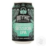 Пиво Boyne Brewhouse Irish Craft Session IPA ж/б 4% 0,33мл