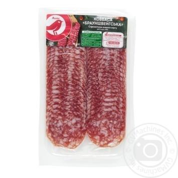 Колбаса Ашан Брауншвейгская сырокопченая - купить, цены на Ашан - фото 4