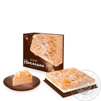 Торт Roshen Наполеон 1кг - купить, цены на Novus - фото 1