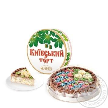 Торт Roshen Киевский 850г - купить, цены на Novus - фото 1
