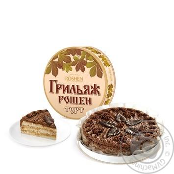 Торт Roshen Трюфельний 850г - купити, ціни на Novus - фото 1