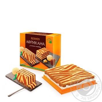 Торт Roshen Африкана 1кг - купить, цены на Novus - фото 1
