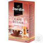 Кава Jardin Cafe Eclair мелена 250г - купити, ціни на Ашан - фото 1