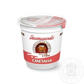 Yagotynska From The Oven Sour Cream 21% 300g - buy, prices for Novus - image 1