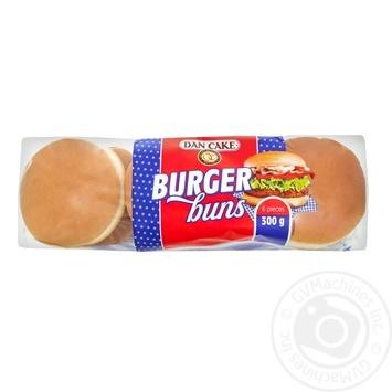 Булочки Dan Cake для гамбургеров 6шт, 300г