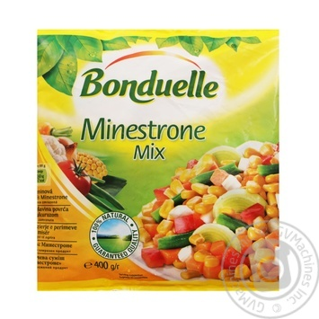 Bonduelle Minestrone frozen mix vegetables 400g - buy, prices for CityMarket - photo 1