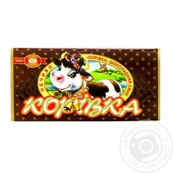 Печиво Корівка зі смаком шоколаду 180г