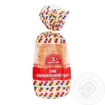 Хліб Цар Хліб Європейський тостовий 330г