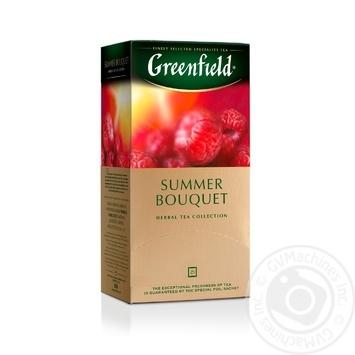 Чай трав'яний Summer Bouquet Greenfield пакетований 50г - купити, ціни на Novus - фото 1