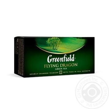Чай Greenfield зеленый Flying Dragon 25шт*2г