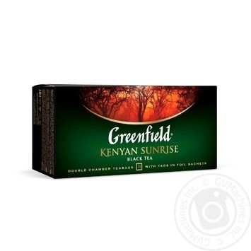 Greenfield Kenyen Sunrise Black Tea - buy, prices for Novus - image 2