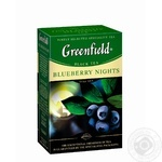 Чай чорний Greenfield Blueberry Nights 100г