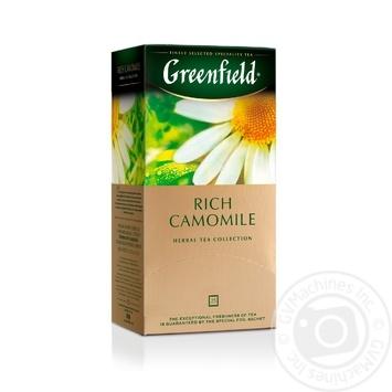 Чай Greenfield травяной Rich Camomile 25шт*1.5г