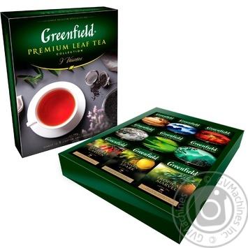 Greenfield Premium leaf black tea 9*40g - buy, prices for MegaMarket - image 2