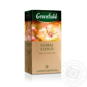 Greenfield Floral Cloud Оolong Tea 25pcs 1,5g