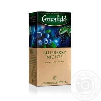 Чай черный Greenfield Blueberry Nights 25шт*1,5г 37,5г - купить, цены на Восторг - фото 7