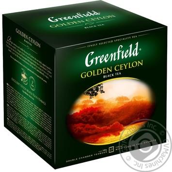 Чай Greenfield чорний Golden Ceylon 120пак