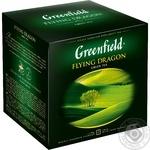 Чай Greenfield зеленый Flying Dragon 120пак