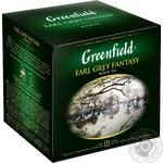 Чай Greenfield черный Earl Grey Fantasy 120пак
