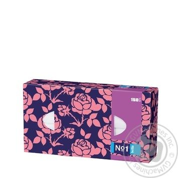 Хустки паперові двошарові універсальні Bella 150шт - купить, цены на Novus - фото 4