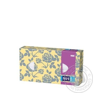 Хустки паперові двошарові універсальні Bella 150шт - купить, цены на Novus - фото 5