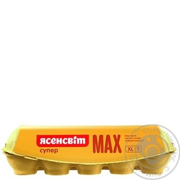 Yasensvit Super Max Chicken Eggs СВ 10pcs - buy, prices for Auchan - image 2