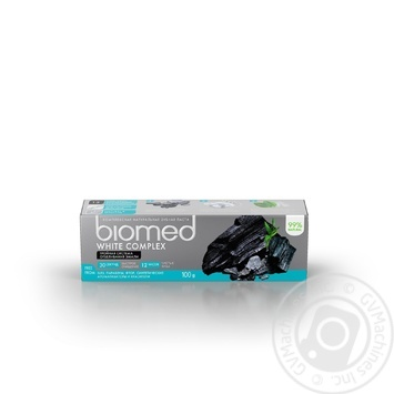 BioMed White Complex Aagainst Bacteria And Caries Protection Toothpaste 100ml - buy, prices for CityMarket - photo 4