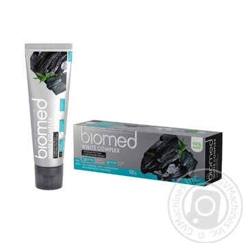 BioMed White Complex Aagainst Bacteria And Caries Protection Toothpaste 100ml - buy, prices for CityMarket - photo 2