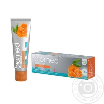 Зубна паста Biomed Vitafresh 100г - купити, ціни на Novus - фото 2