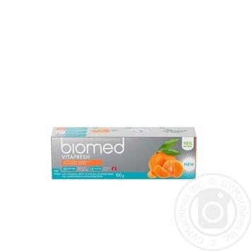 Зубна паста Biomed Vitafresh 100г