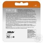 Сменные картриджи для бритья Gillette Fusion5 Power 4шт - купить, цены на МегаМаркет - фото 2